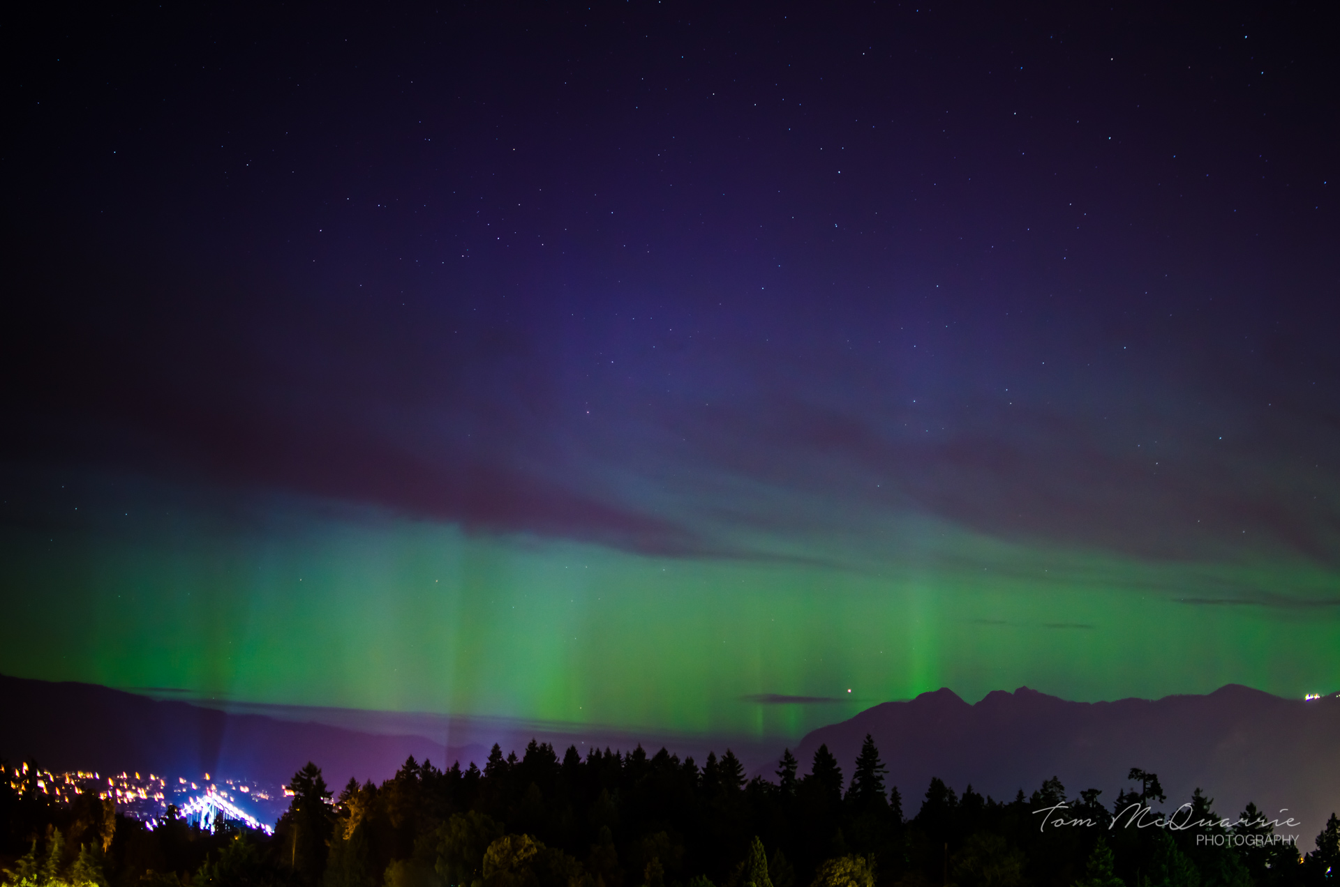 Aurora Borealis from Vancouver