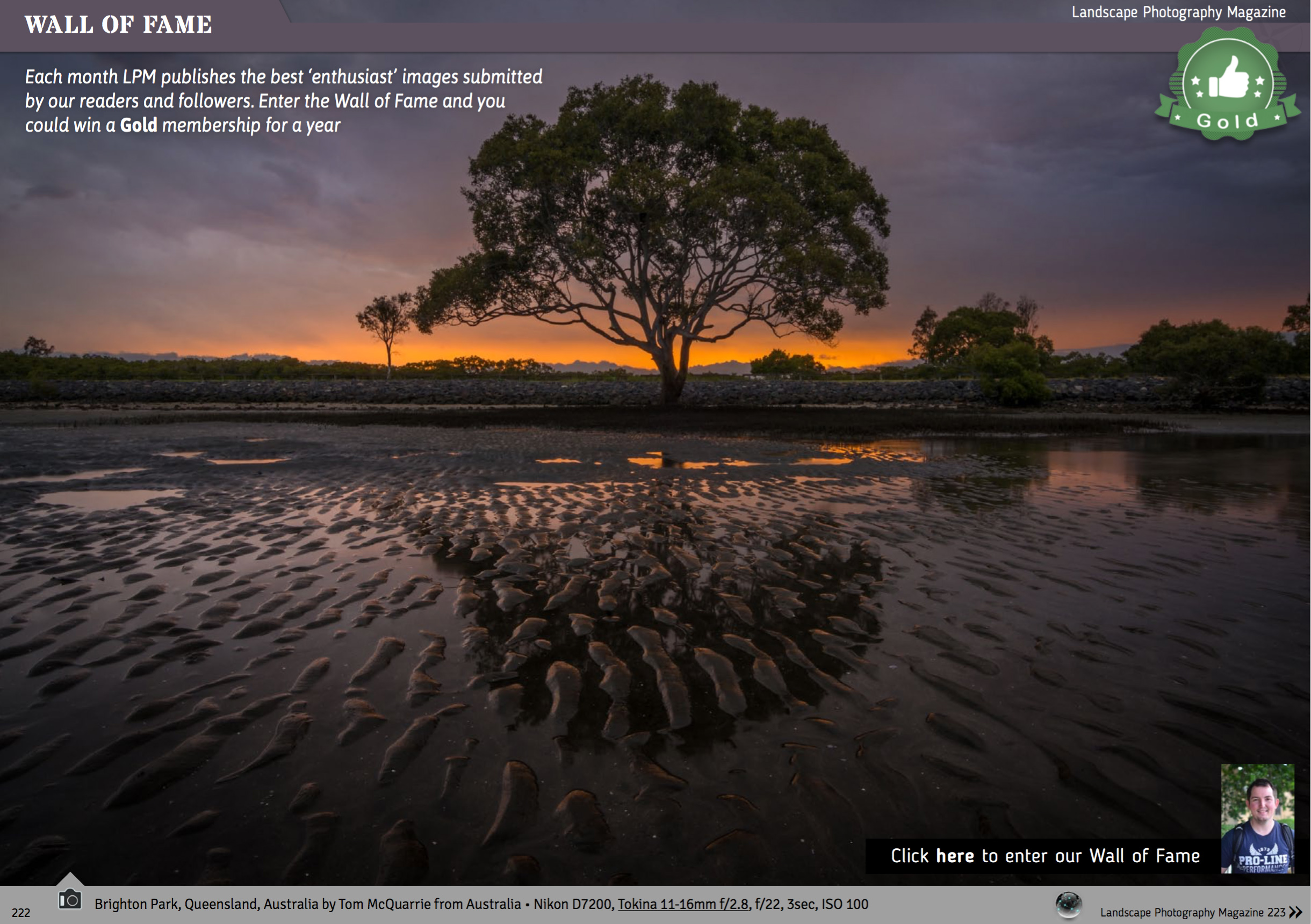 Now featured in Landscape Photography Magazine!